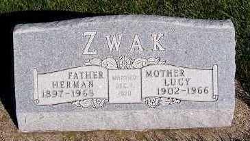 ZWAK, LUCY - Sioux County, Iowa | LUCY ZWAK
