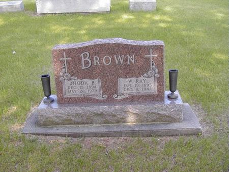 DODD BROWN, RHODA - Story County, Iowa | RHODA DODD BROWN