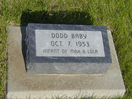 DODD, BABY - Story County, Iowa | BABY DODD