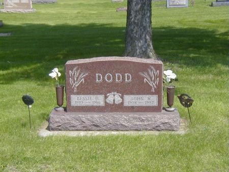 CARVER DODD, BESSIE - Story County, Iowa | BESSIE CARVER DODD