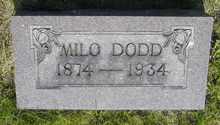 DODD, MILO - Story County, Iowa | MILO DODD