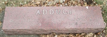 ADDUCI, DOROTHY ARLENE - Story County, Iowa | DOROTHY ARLENE ADDUCI