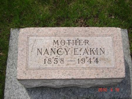 AKIN, NANCY E. - Story County, Iowa | NANCY E. AKIN