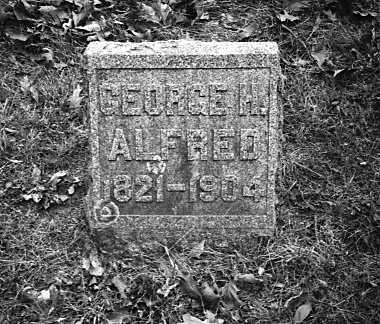 ALFRED, GEORGE H. - Story County, Iowa   GEORGE H. ALFRED