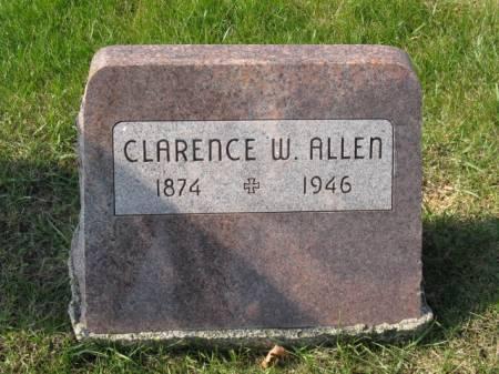 ALLEN, CLARENCE W - Story County, Iowa | CLARENCE W ALLEN