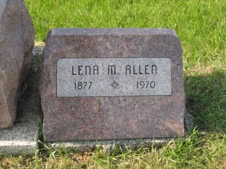 ALLEN, LENA M - Story County, Iowa | LENA M ALLEN