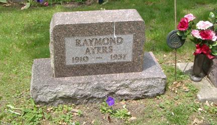 AYERS, RAYMOND - Story County, Iowa   RAYMOND AYERS