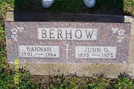 BERHOW, HANNAH - Story County, Iowa | HANNAH BERHOW