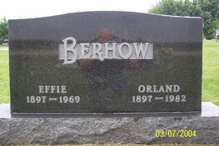 BERHOW, EFFIE - Story County, Iowa | EFFIE BERHOW
