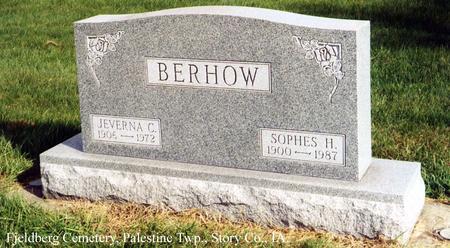 BERHOW, JEVERNA C. - Story County, Iowa | JEVERNA C. BERHOW