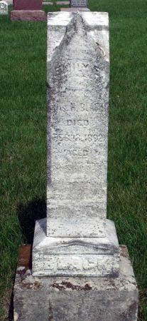 BLACK, EMILY E. - Story County, Iowa   EMILY E. BLACK