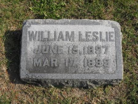 BLACKBURN, WILLIAM LESLIE - Story County, Iowa | WILLIAM LESLIE BLACKBURN