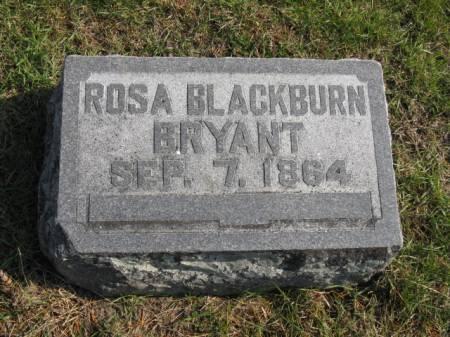 BLACKBURN BRYANT, ROSA - Story County, Iowa | ROSA BLACKBURN BRYANT