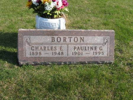 BORTON, PAULINE G - Story County, Iowa | PAULINE G BORTON