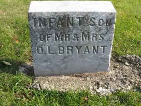BRYANT, INFANT SON - Story County, Iowa | INFANT SON BRYANT