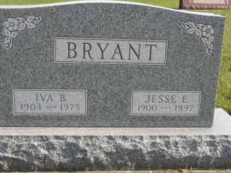 BRYANT, IVA B - Story County, Iowa | IVA B BRYANT