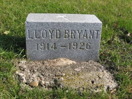 BRYANT, LLOYD - Story County, Iowa   LLOYD BRYANT