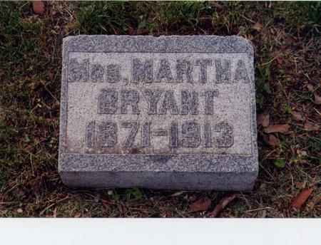 TURCH BRYANT, MARTHA - Story County, Iowa | MARTHA TURCH BRYANT