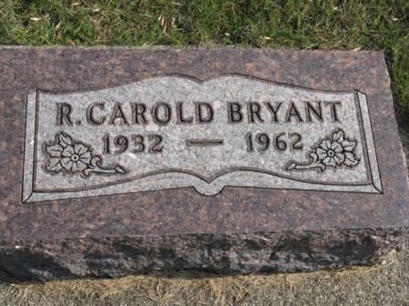 BRYANT, R CAROLD - Story County, Iowa   R CAROLD BRYANT