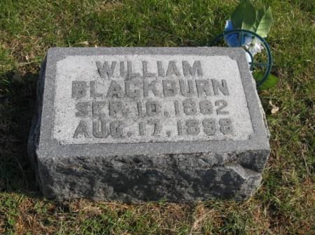 BLACKBURN, WILLIAM - Story County, Iowa   WILLIAM BLACKBURN