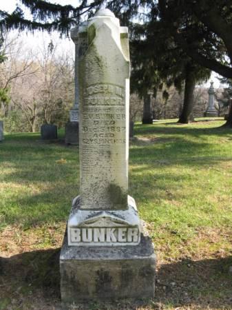 BUNKER, JOSEPH M. - Story County, Iowa   JOSEPH M. BUNKER