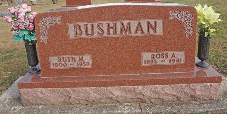 BUSHMAN, RUTH M. - Story County, Iowa | RUTH M. BUSHMAN