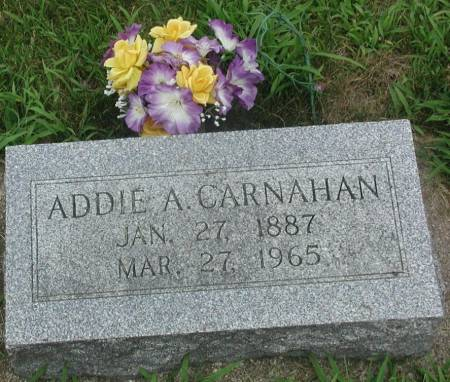 CARNAHAN, ADDIE A. - Story County, Iowa | ADDIE A. CARNAHAN