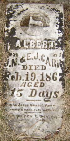 CARR, ALBERT - Story County, Iowa | ALBERT CARR