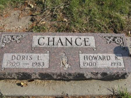 CHANCE, HOWARD K - Story County, Iowa | HOWARD K CHANCE