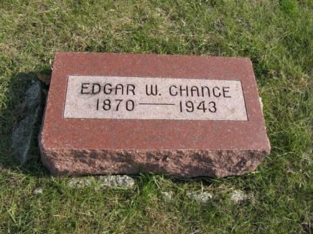 CHANCE, EDGAR W - Story County, Iowa | EDGAR W CHANCE
