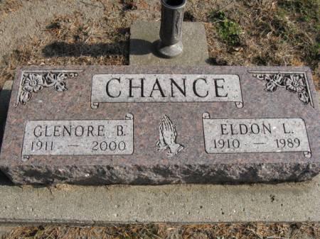 CHANCE, GLENORE B - Story County, Iowa   GLENORE B CHANCE