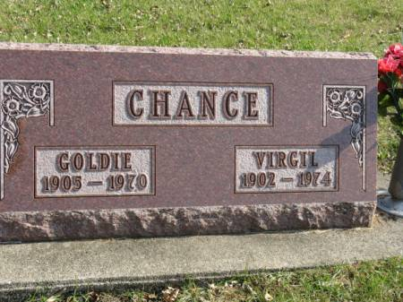 CHANCE, GOLDIE - Story County, Iowa | GOLDIE CHANCE