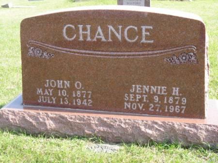CHANCE, JOHN O - Story County, Iowa | JOHN O CHANCE