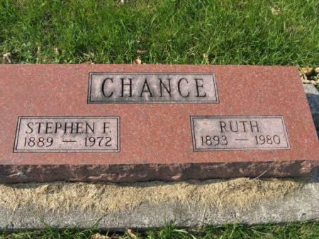 CHANCE, RUTH - Story County, Iowa   RUTH CHANCE