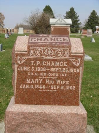 CHANCE, MARY - Story County, Iowa | MARY CHANCE