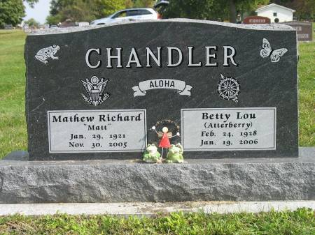 CHANDLER, BETTY LOU - Story County, Iowa | BETTY LOU CHANDLER