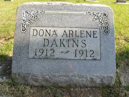 DAKINS, DONA ARLENE - Story County, Iowa | DONA ARLENE DAKINS