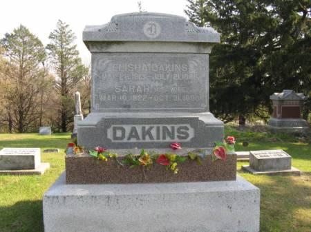 DAKINS, ELISHA - Story County, Iowa | ELISHA DAKINS
