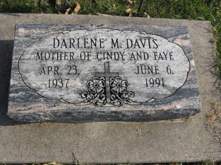 DAVIS, DARLENE M - Story County, Iowa | DARLENE M DAVIS