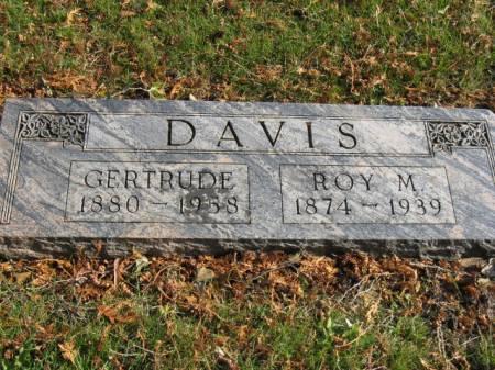 DAVIS, GERTRUDE - Story County, Iowa   GERTRUDE DAVIS