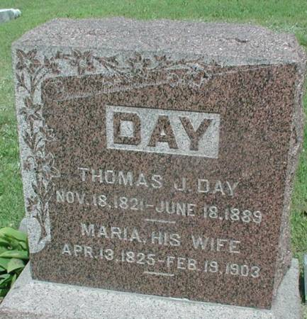 PEASE DAY, ANNA MARIA - Story County, Iowa | ANNA MARIA PEASE DAY