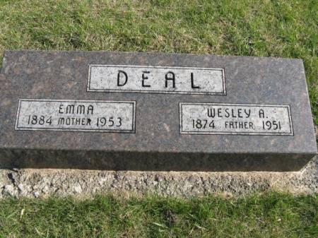 DEAL, EMMA - Story County, Iowa   EMMA DEAL