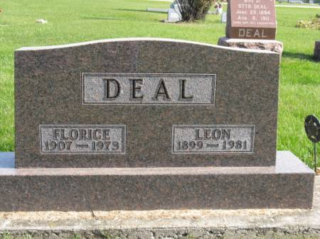 DEAL, FLORICE - Story County, Iowa | FLORICE DEAL