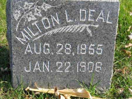 DEAL, MILTON L - Story County, Iowa | MILTON L DEAL