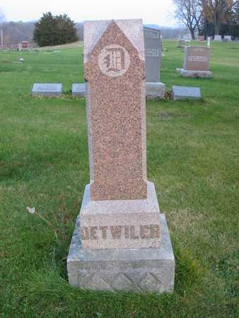 DETWILER, FAMILY - Story County, Iowa   FAMILY DETWILER