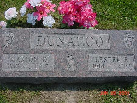 MCCARTNEY DUNAHOO, MARION D. - Story County, Iowa | MARION D. MCCARTNEY DUNAHOO