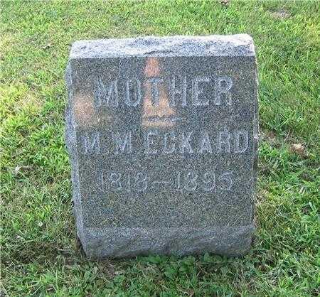 JENKINS ECKARD, MELVINA MARGARET - Story County, Iowa | MELVINA MARGARET JENKINS ECKARD
