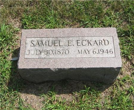 ECKARD, SAMUEL ELIJAH - Story County, Iowa | SAMUEL ELIJAH ECKARD
