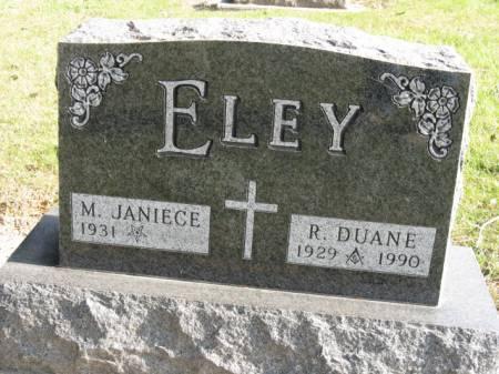 ELEY, R DUANE - Story County, Iowa | R DUANE ELEY