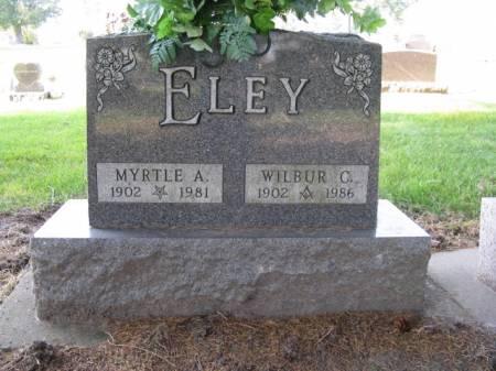 ELEY, WILBUR C - Story County, Iowa   WILBUR C ELEY